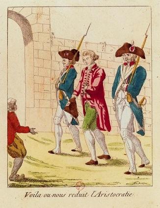 Beaumarchais conduit à la prison de Saint-Lazare