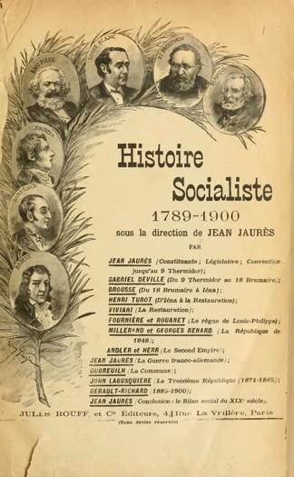 Histoire socialiste, dirigée par Jaurès