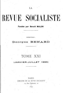 La Revue socialiste - 1895