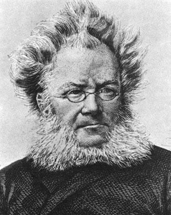 Portrait d'Henrik Ibsen