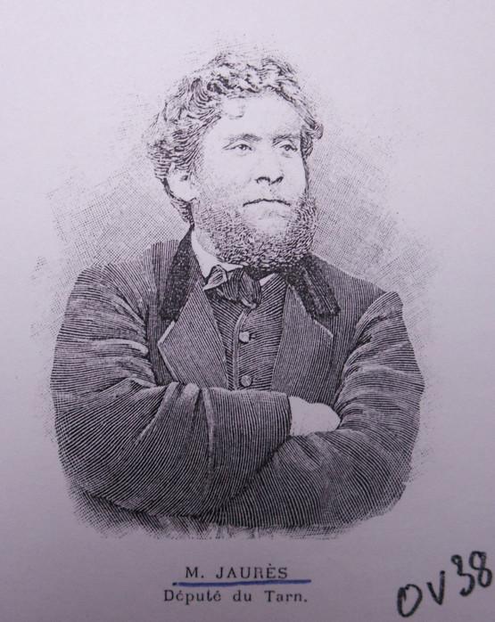 Jaurès en 1896